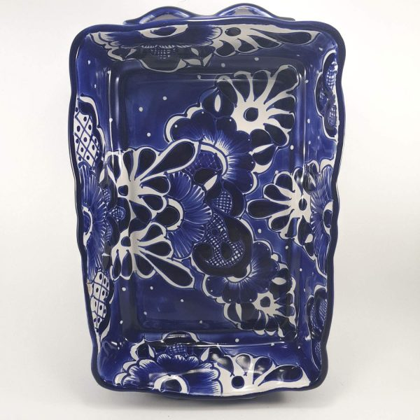 talavera blue multi tray