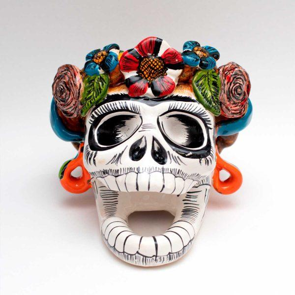 Cráneo de Frida Kahlo - Skull Talavera