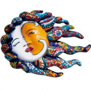 Sun and Moon Kissed Talavera Artesano