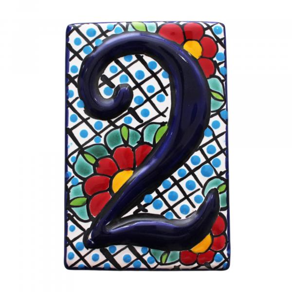 talavera numbers tiles 2