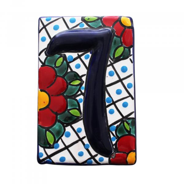 talavera numbers tiles 7